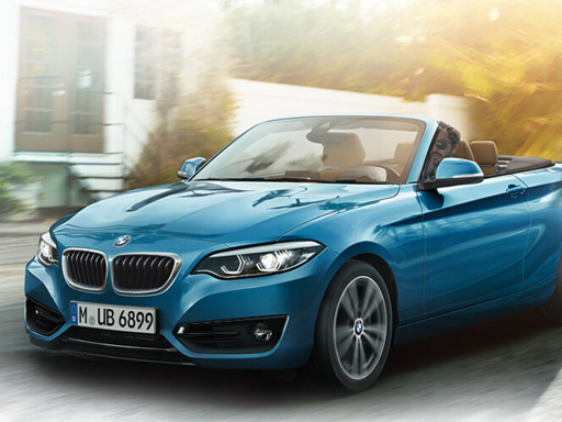 BMW 2 SERIES CONVERTIBLE 220d M Sport 2dr [Nav] Step Auto