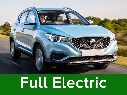 MG MOTOR UK ZS 105kW Exclusive EV 45kWh 5dr Auto