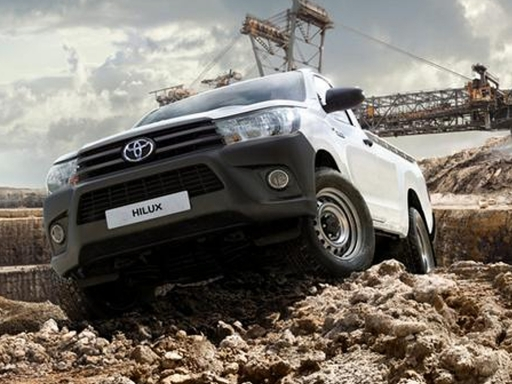 TOYOTA HILUX Active Pick Up 2.4 D-4D [3.5t Tow]