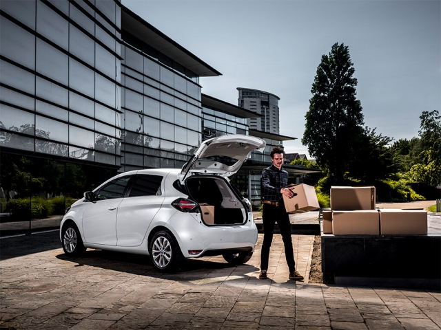 RENAULT ZOE CDV ZE ELECTRIC 80kW Business 50kWh i-Van R110 Auto