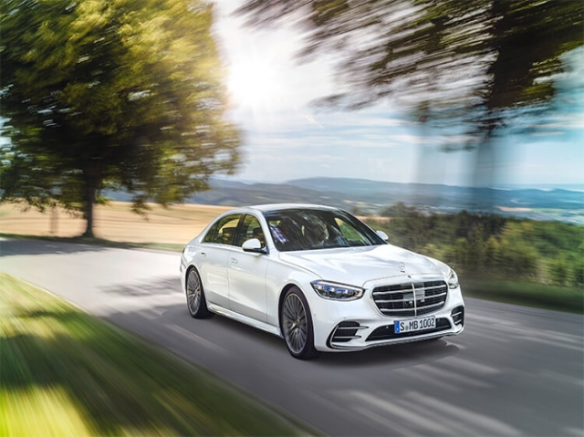 MERCEDES-BENZ S CLASS SALOON S350d AMG Line 4dr 9G-Tronic