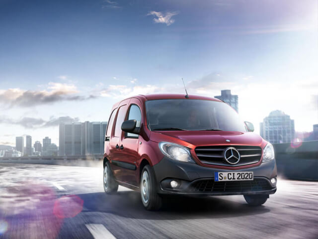 MERCEDES-BENZ CITAN LONG 109CDI Van