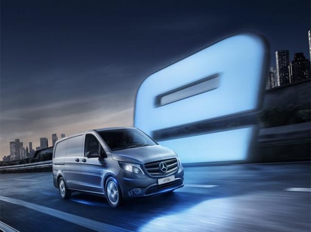MERCEDES-BENZ eVITO L2 ELECTRIC FWD 85kW 41kWh Progressive Van Auto