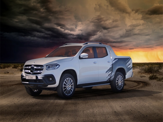 MERCEDES-BENZ X CLASS SPECIAL EDITIONS Element 250d 4Matic Element Double Cab Pickup Auto