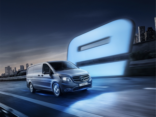 MERCEDES-BENZ eVITO L2 ELECTRIC FWD