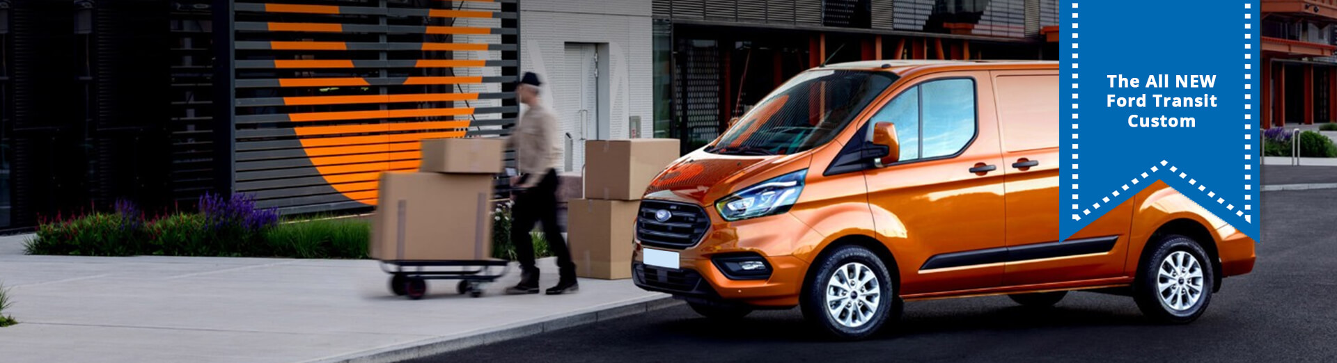 The All New Ford Transit Custom
